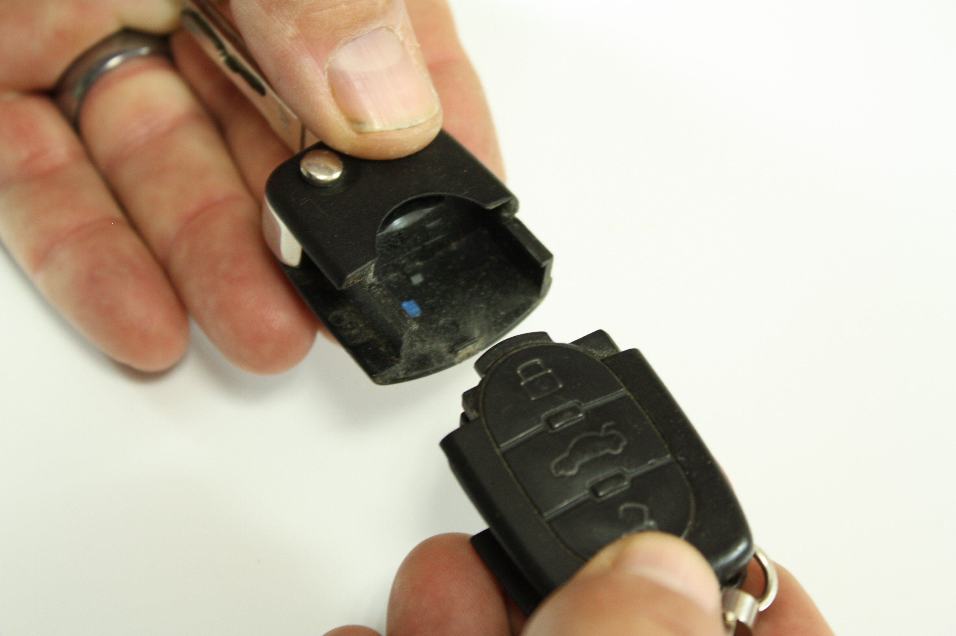 Audi Vw Flip Key Fob Remote Battery Replacement